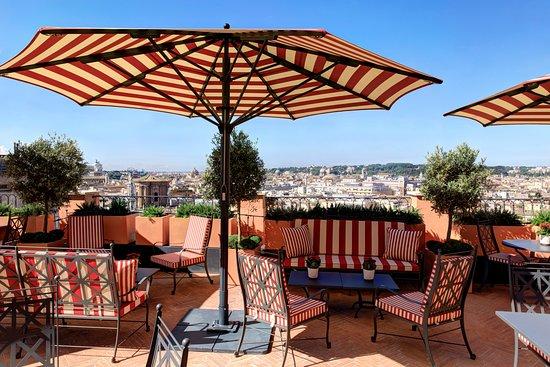 Cielo Terrace Bar Rome Menu Prices Restaurant Reviews