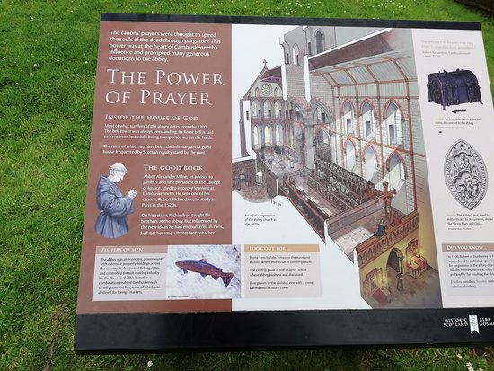 Cambuskenneth Abbey: The power of prayer - great illustration