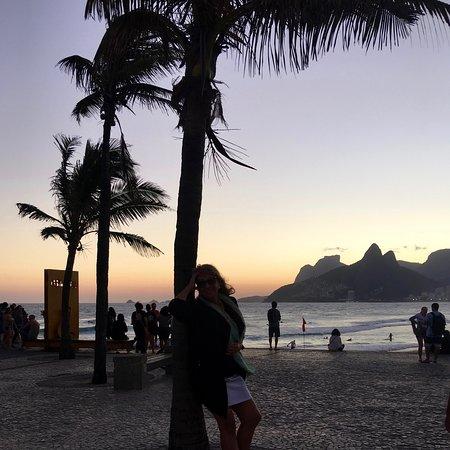 Rio de Janeiro, RJ: Anocheciendo en Rio