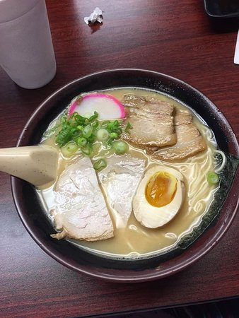 Ramen Vegetarian W Pork Belly And Soy Egg Picture Of Ike S