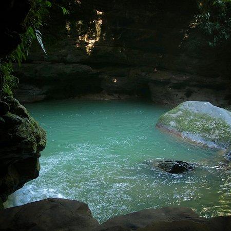 piscina natural en el gran cañon,, oh yea!