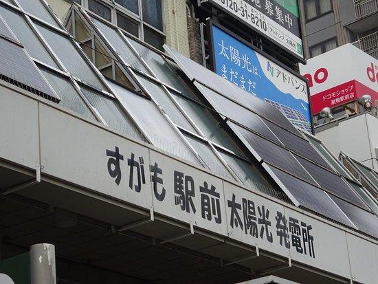 Sugamo Ekimae Solar Power Plant