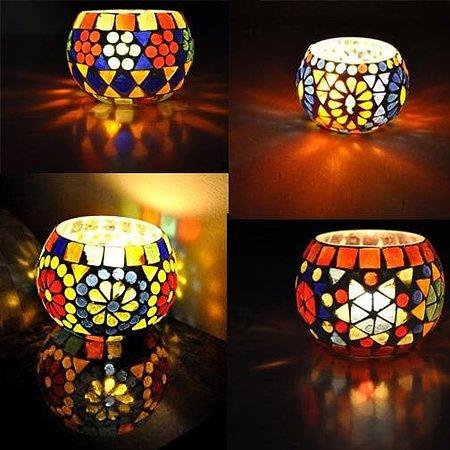 Pita Shree Handicraft : Rajasthani T-light candle holders. Size 3 inches