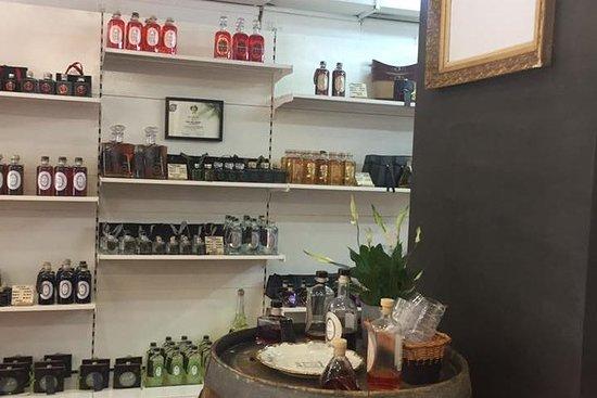 Polykala's Distillery Show room