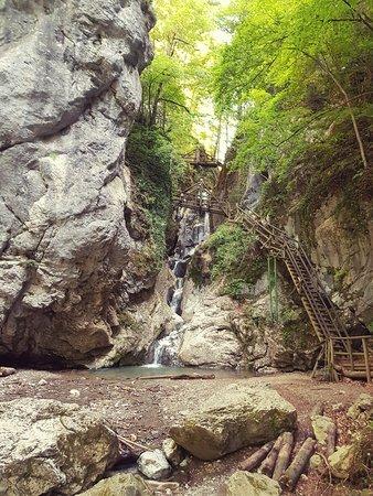 Semriach, ออสเตรีย: Einstieg in die Klamm.