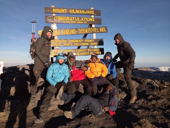 8 days Lemosho route Climbing Mt. Kilimanjaro – fotografija