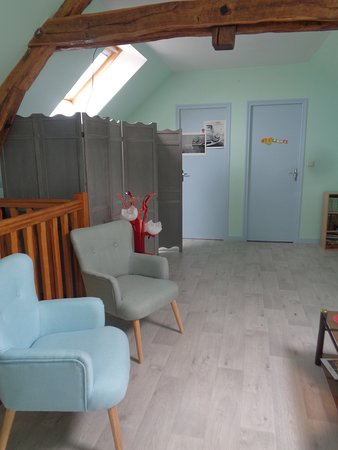Orbigny, Francja: Salon attenant à la chambre