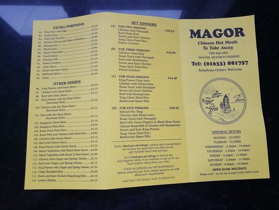 Magor Chinese - Restaurant Reviews, Phone Number & Photos