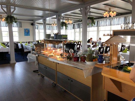 Tammisaari, פינלנד: Buffet area