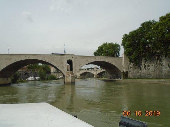 Crucero por el río con paradas libres por Roma y recorrido en autobús opcional: View of the River