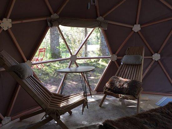 Lac des Rouges Truites, Francja: Dome