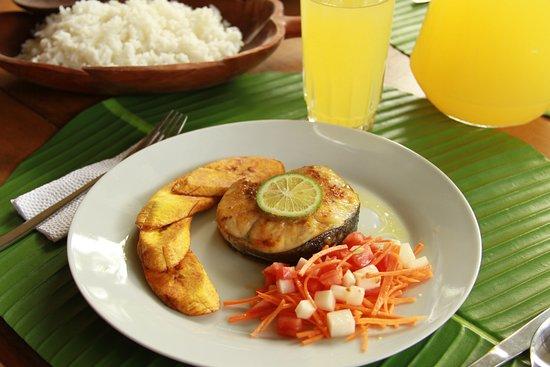 Loreto Mocagua, โคลอมเบีย: Almuerzo