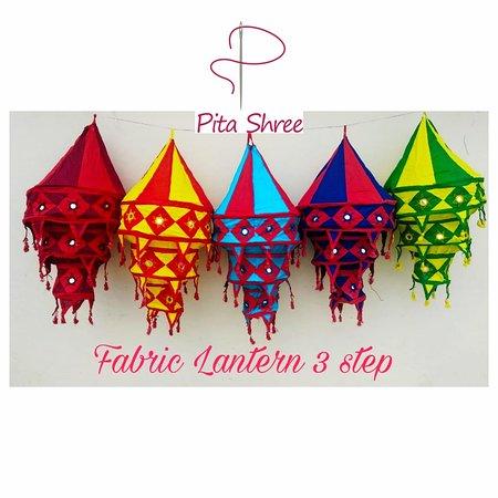 Pita Shree Handicraft : Fabric lanterns