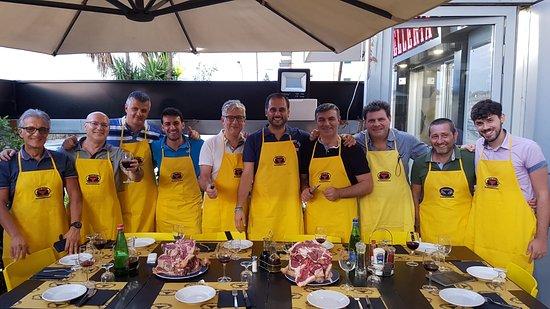 Gricignano di Aversa, Włochy: foto di gruppo 17-07-2019