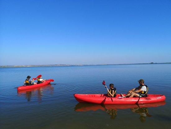 Tour in kayak nello stagno di Cabras
