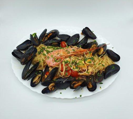 Spaghetti sabor del mar