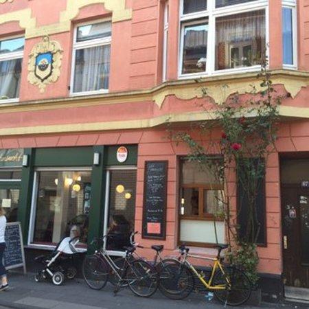Unser Café auf der schönen Körnerstraße