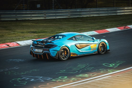 Nuerburg, Germany: Take a ride in our McLaren 600LT, the fastest 2 seater taxi on the Nürburgring!