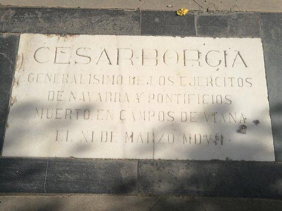 Tumba De Cesar Borgia