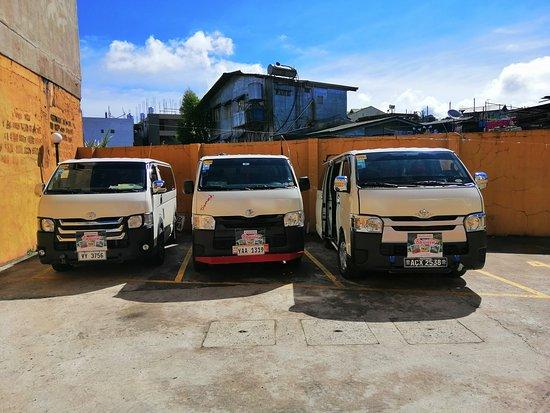 Benguet Province, Filippine: Legal Tourist Vehicles. For Hire