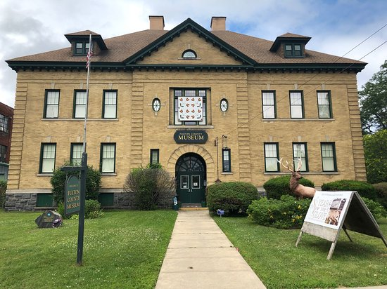 Gloversville, NY: The Fulton County Museum is located in the former Kingsboro Academy, built in 1900.