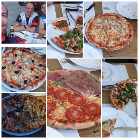 Giro Pizza nach Bike Tour