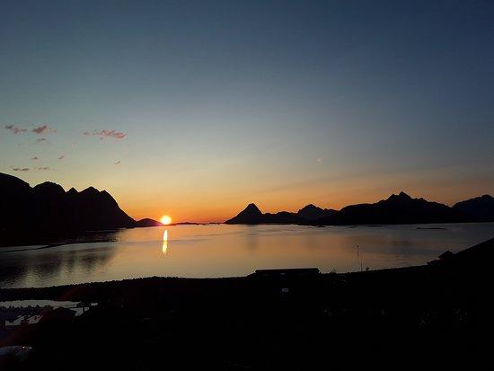 Krakberget, Norway: Midnattsol Vesterålen