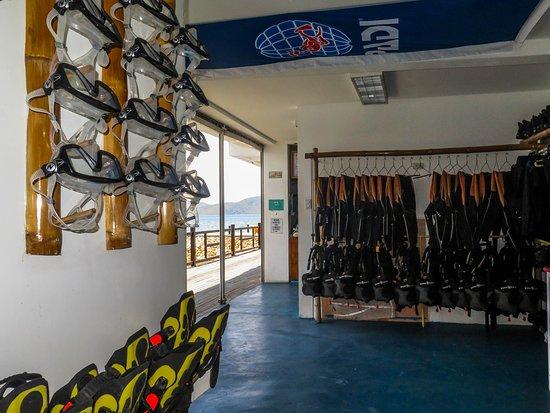 Busuanga Bay Lodge: Diveshop