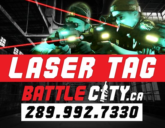 ‪Battle City Tactical Laser Tag‬