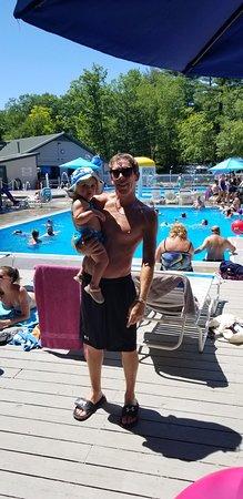 Kampersville Beach: Lake Dunmore Pools.  It's paradise!