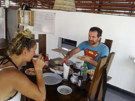 Crocotopond: having breakfast at CCP Restaurant