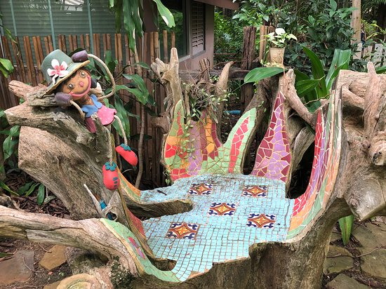 Nakhon Ratchasima Province, Thaïlande : Mosaic Garden