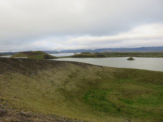 Skutustadir, Islandia: gli pseudocrateri sul lago Myvath