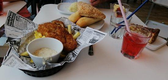 Рыба и картошка
