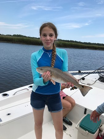Cape Fear, NC: A nice in-slot red!
