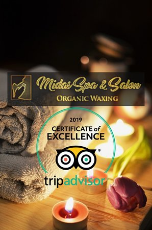Certificate of excellence 2019  Day Spa Ubud