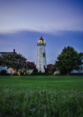 Old Point Comfort Lighthouse: Blue Hour