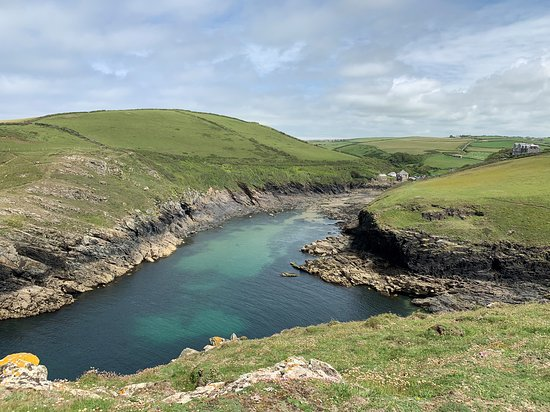 St Kew, UK: Picture of The Rumps, Pentire Point near Polzeath