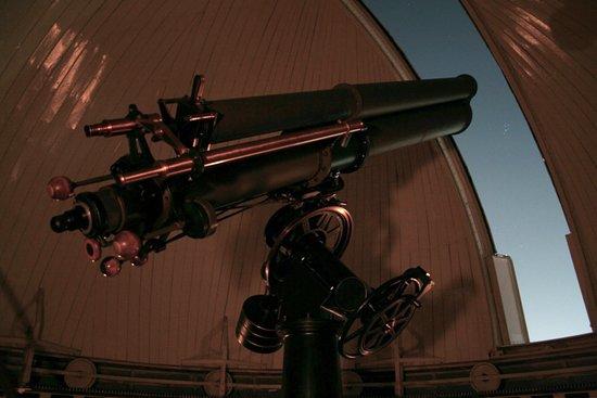 Die Sternwarte bei Nacht - Picture of Kuffner-Sternwarte