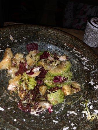 Салат с одним вкусом бальзамика