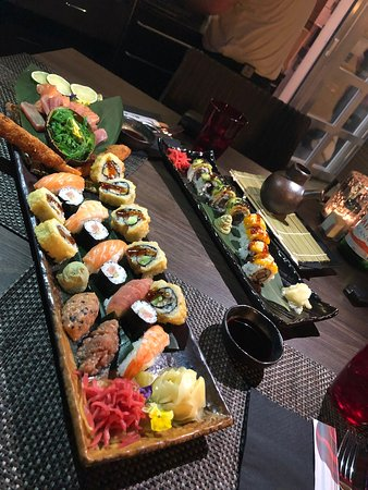 Sushi a Maggia