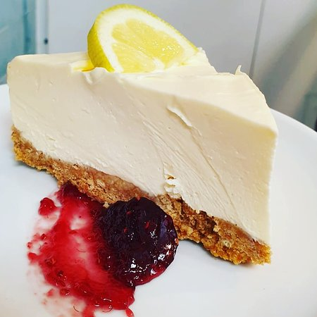 Devine lemon cheesecake  Did we mention we have puds?!
