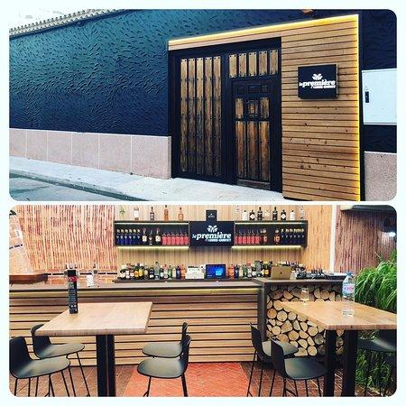 Pedro Munoz, إسبانيا: Le Premiére Lounge-Garden