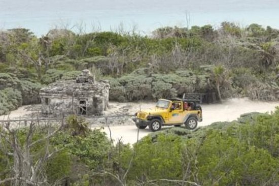 Tour avventura di Cozumel in jeep con
