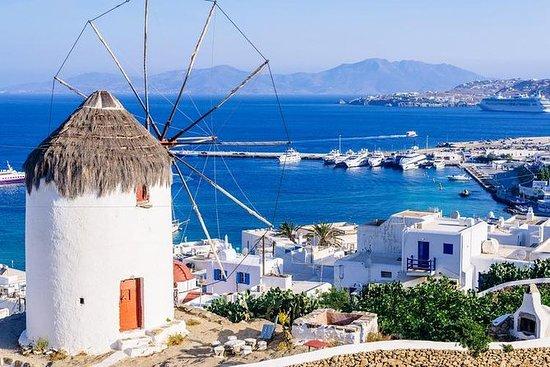Mykonos by og øy halvdags tur