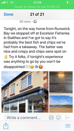 Excelsior Fisheries: Thank you very much and we look forward to welcoming you again.