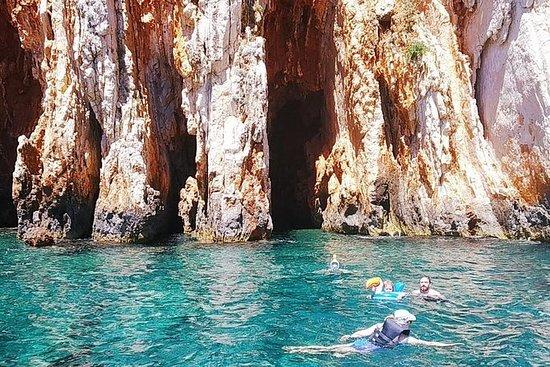 快艇之旅Hvar和来自斯普利特或布拉克岛的令人惊叹的红色岩石