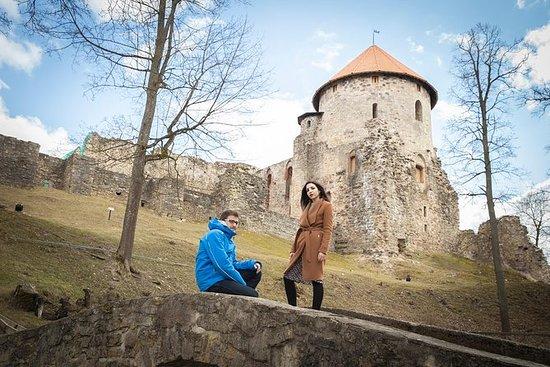 Medieval Cesis Photoshoot Tour