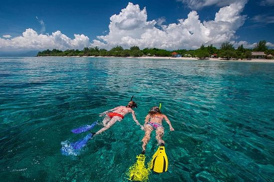 Les minuscules îles Gili préservées...