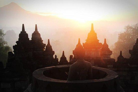 Borobudur Sunrise en vélo